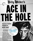 Ace in the Hole: The Criterion Collection Blu-ray + DVD Dual Format Edition cover art -- click to buy from Amazon.com