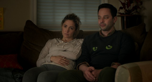 "An estranged sister (Rose Byrne) and brother (Nick Kroll) reunite in ""Adult Beginners."""