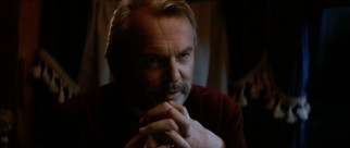 Sam Neill doesn't always eat steak, but when he does, he addresses it in an evil monologue.