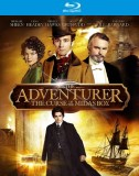 The Adventurer: The Curse of the Midas Box Blu-ray Disc cover art -- click to buy from Amazon.com