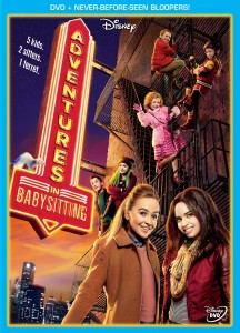 Disney's Adventures in Babysitting (2016) DVD cover art -- click to buy from Amazon.com