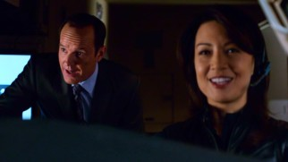 It's got to be the outtakes reel if Ming-Na Wen is laughing.