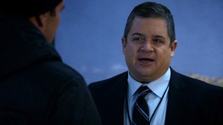 In his first crack at playing twin brothers, Patton Oswalt guest stars as Eric Koenig, a Level 6 S.H.I.E.L.D. operative with big secrets.