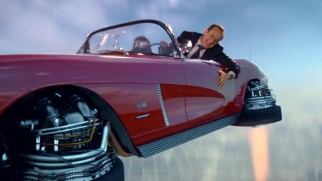 Agent Coulson believes Lola, his 1962 Chevrolet Corvette, can fly... with good reason.