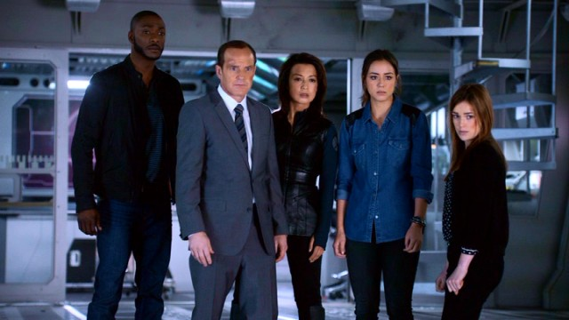 Agents of S.H.I.E.L.D. look forward to a second season.