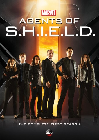 Agents of S.H.I.E.L.D.: The Complete First Season DVD cover art -- click to buy from Amazon.com