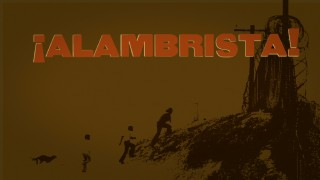 "Criterion's ""¡Alambrista!"" Blu-ray menu is simple but artful."