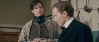 More convincing female-to-male transgender Hubert Page (Janet McTeer) inspires Albert Nobbs to dream big.