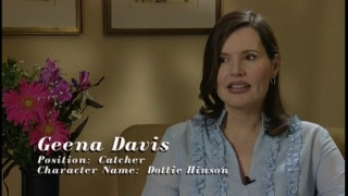 "Geena Davis reflects on one of her better regarded films in the 2004 documentary ""Nine Memorable Innings."""