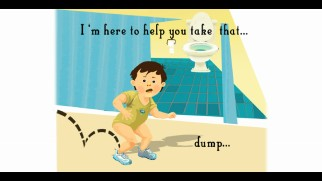 A read-along outrageous children's book about taking dumps is hidden on the Blu-ray somewhere as an Easter egg.