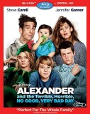 Alexander and the Terrible, Horrible, No Good, Very Bad Day: Blu-ray + Digital HD combo pack cover art -- click to buy from Amazon.com