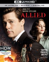 Allied: 4K Ultra HD + Blu-ray Disc cover art -- click to buy from Amazon.com