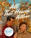 All That Heaven Allows: The Criterion Collection Blu-ray + DVD Dual Format Edition cover art -- click to buy from Amazon.com