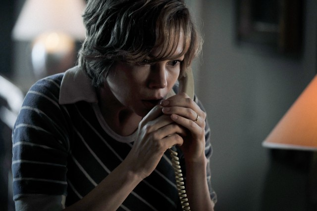 Michelle Williams gets top billing as Gail Getty, whose son is kidnapped in Rome in 1973.