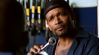 Rigorous stepfather Eric (director Mario Van Peebles) boils down an assortment of ethnicities down to their essence in rare bit of well-intentioned parenting.