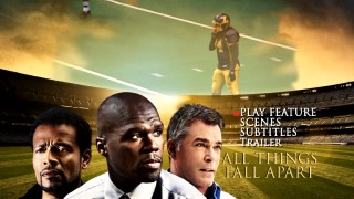 Football is emphasized on the cover art and the DVD main menu adapted from it.