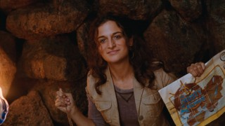 Zoe (Jenny Slate) elaborates on her treasure map motivations in one of her extended scenes.