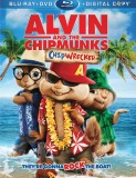 Alvin and the Chipmunks: Chipwrecked: 2-Disc Blu-ray + DVD + Digital Copy combo pack cover art - click to buy from Amazon.com