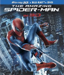 The Amazing Spider-Man Blu-ray 3D Combo cover art