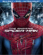 The Amazing Spider-Man Blu-ray + DVD + UltraViolet combo pack cover art -- click to buy from Amazon.com