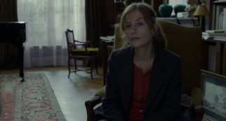 Isabelle Huppert plays Eva, Anne's daughter and lone related visitor.