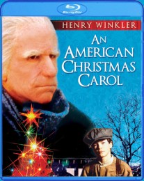 An American Christmas Carol (1979) Blu-ray cover art - click to buy from Amazon.com