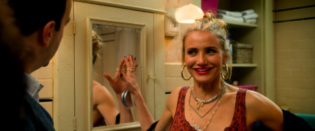 Cameron Diaz puts her own trashy imprint on Miss Hannigan, a role previously played by Carol Burnett.