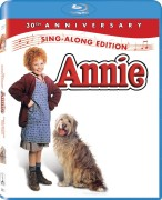 Annie: 30th Anniversary Sing-Along Edition Blu-ray Disc cover art -- click to buy from Amazon.com