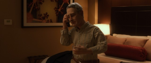 "In Cincinnati to deliver a speech, lonely customer service guru Michael Stone looks up an old flame and tries to reconnect in ""Anomalisa."""