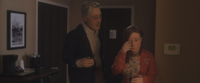 "Michael Stone makes a strong connection with the scarred, insecure Lisa Hesselman in ""Anomalisa."""