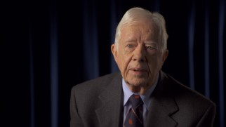 "President Jimmy Carter recalls his role in ""Rescued from Tehran: We Were There."""