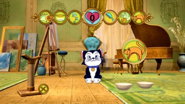 Figaro needs feeding in the set-top version of Virtual Kitten.