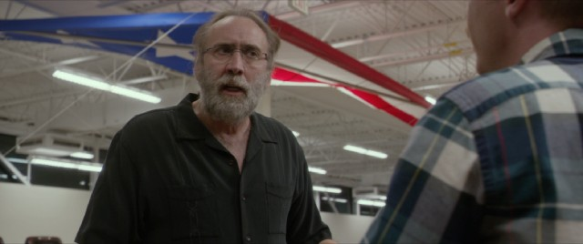"When sailing doesn't work, Gary Faulkner (Nicolas Cage) considers entering Pakistan on the patriotic hang glider behind him in ""Army of One."""