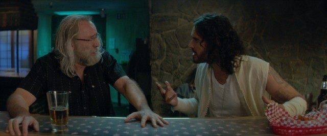 "In ""Army of One"", Gary Faulkner (Nicolas Cage) receives directions from God (Russell Brand) to go capture Osama Bin Laden alive."
