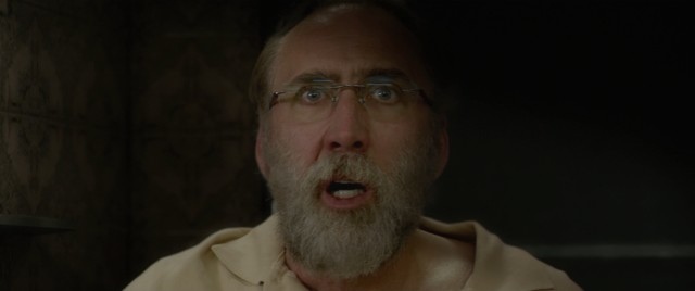 "Gary Faulkner (Nicolas Cage) can't believe his eyes when he sees Osama Bin Laden on MTV's ""Cribs."" Spoiler: it's just a dream."