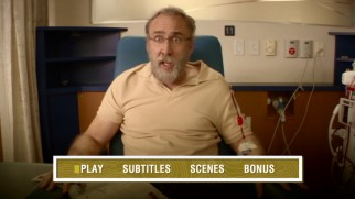 Gary Faulkner (Nicolas Cage) gets a mid-dialysis assignment on the Army of One main menu.