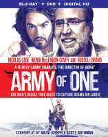 Army of One: Blu-ray + DVD + Digital HD combo pack cover art -- click to buy from Amazon.com