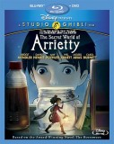 The Secret World of Arrietty: Blu-ray + DVD Combo Pack cover art -- click to buy from Amazon.com