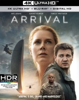 Arrival: 4K Ultra HD + Blu-ray Disc cover art -- click to buy from Amazon.com
