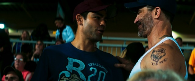 "The brotherhood of JP (Adrian Grenier) and Mikey (Johnathon Schaech) provides the heart of ""Arsenal."""
