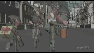 The elves take Denmark in early stage animation in one of five Progression Reels.