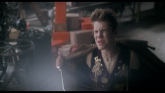 "Justin Bieber shows some vest in his inexplicably hidden ""Santa Claus Is Comin' to Town"" music video."