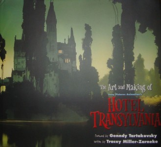 The Art and Making of Hotel Transylvania book cover - click to buy from Amazon.com