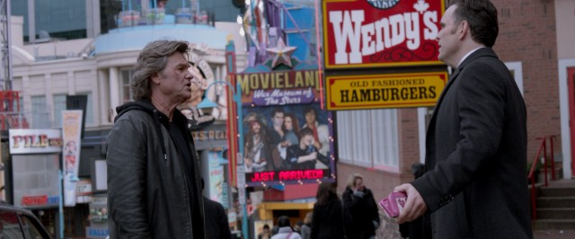 On a Niagara Falls, Ontario street, half-brothers Crunch (Kurt Russell) and Nicky (Matt Dillon) argue over whether to get Wendy's before or after a visit to Movieland Wax Museum of the Stars. (Not really.)