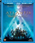 Atlantis: The Lost Empire & Milo's Return - 2 Movie Collection Blu-ray + DVD cover art -- click for larger view