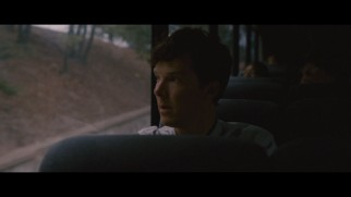 In the deleted scene that will have the Internet abuzz, Benedict Cumberbatch rides a bus in silence.