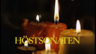 "The Swedish theatrical trailer uses the Swedish title, ""Höstsonaten."""
