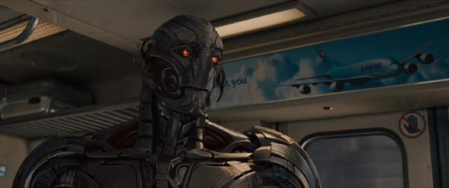 Artificial intelligence turns deadly when Ultron (voiced by James Spader) decides not to protect the world but to destroy it.