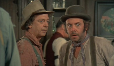 Don Knotts and Tim Conway in THE APPLE DUMPLING GANG (1975)