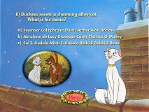 The Aristocats Trivia Game